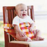 子供と外食で便利なチェアベルト!洗濯も出来て汚れや持ち運びも簡単!